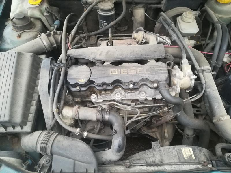 Foto-2 Opel Astra Astra, F 1991.09 - 1998.09 1995 Dyzelis 1.7