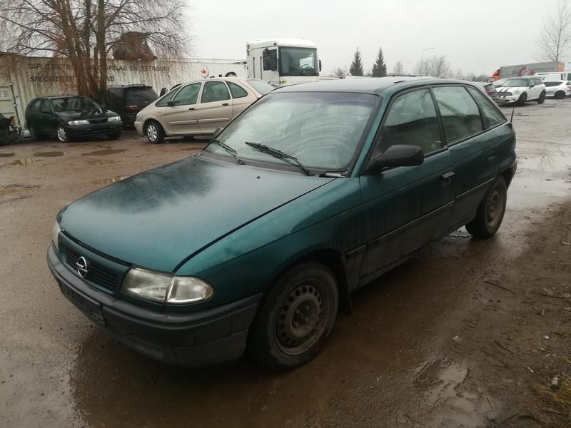 Foto-4 Opel Astra Astra, F 1991.09 - 1998.09 1995 Dyzelis 1.7