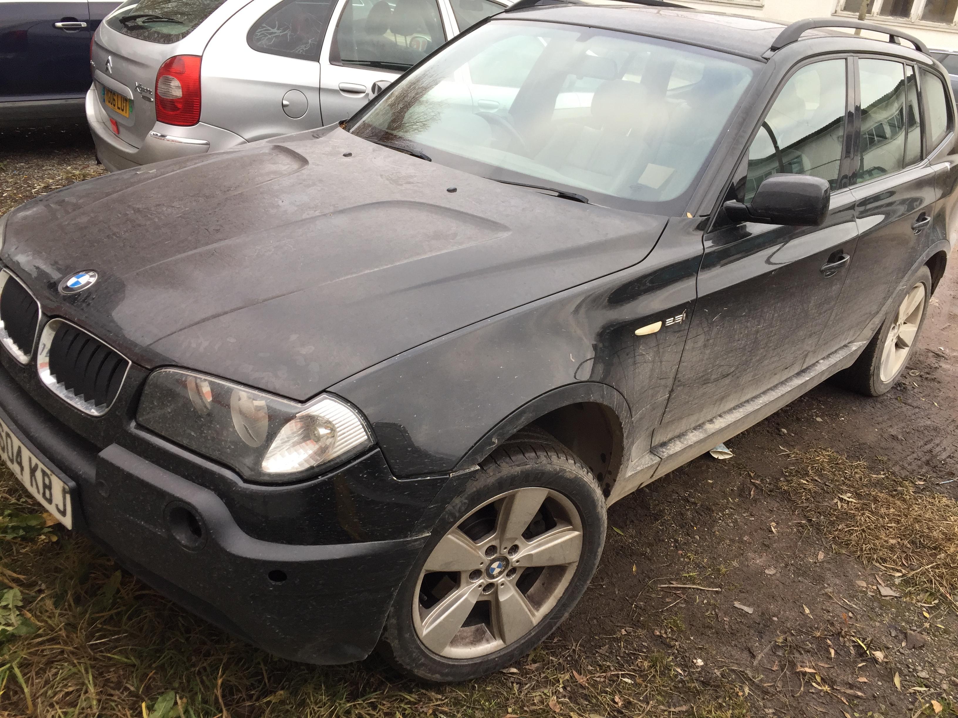Foto-1 BMW X3 X3 E83, 2003.01 - 2010.06 2004 Benzinas 2.5
