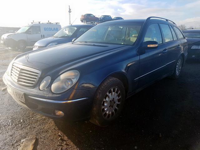 Foto-1 Mercedes-Benz E-CLASS W211, 2002.03 - 2006.04 2004 Dyzelis 2.7