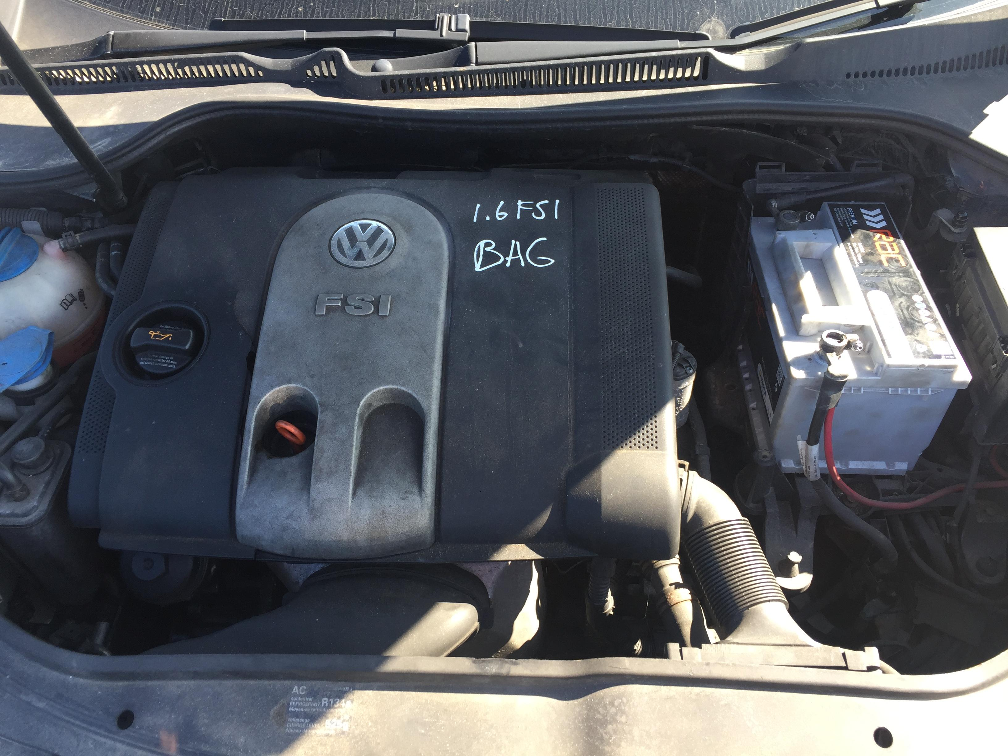 Foto-3 Volkswagen Golf Golf, V 2003.10 - 2008.10 2004 Benzinas 1.6