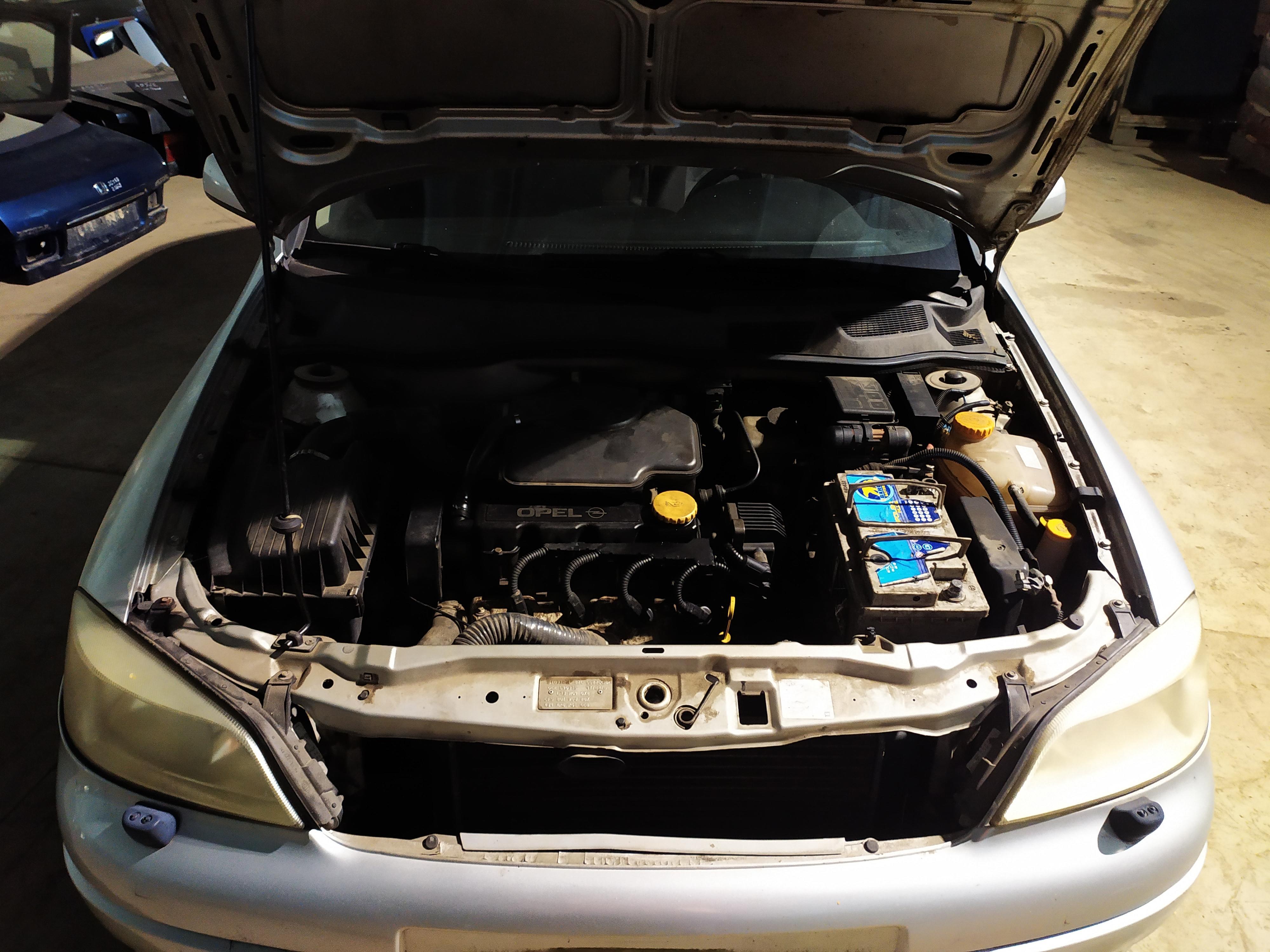Foto-2 Opel Astra Astra, G 1998.09 - 2004.12 1998 Benzinas 1.6