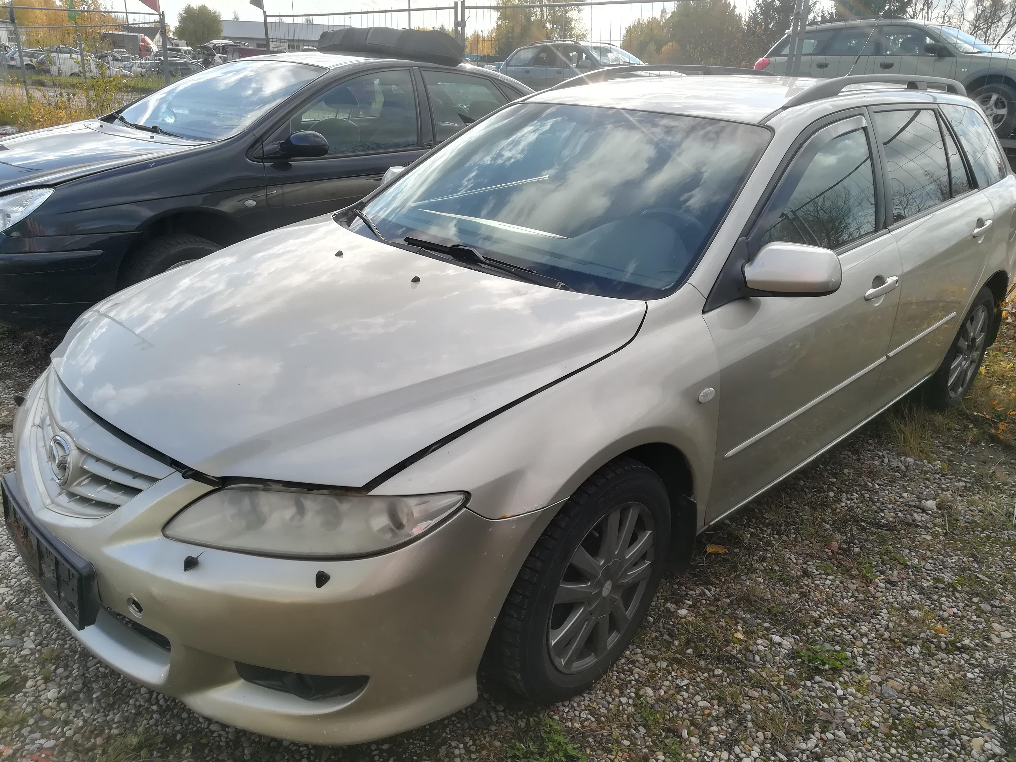 Foto-4 Mazda 6 6, 2002.06 - 2007.08 2005 Benzinas 2.0