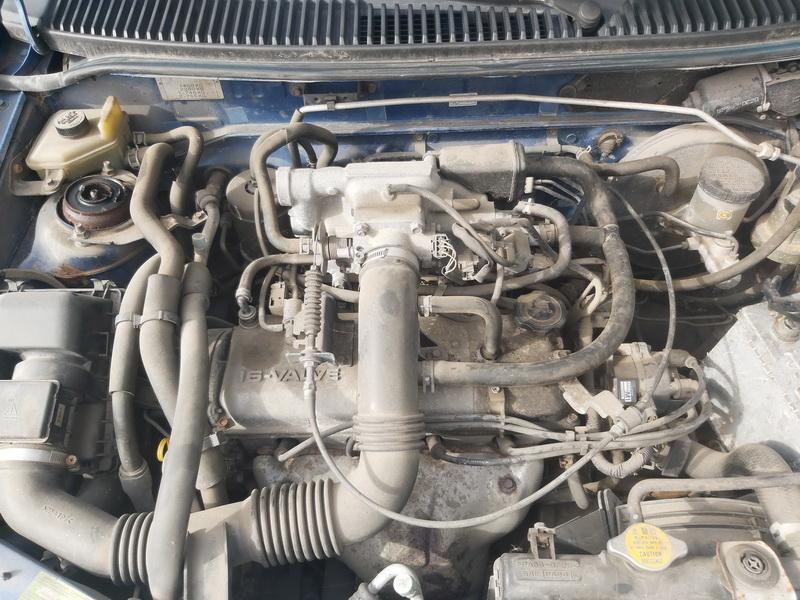 Foto-2 Mazda Demio Demio, II 2000.01 - 2003.12 2000 Benzinas 1.3