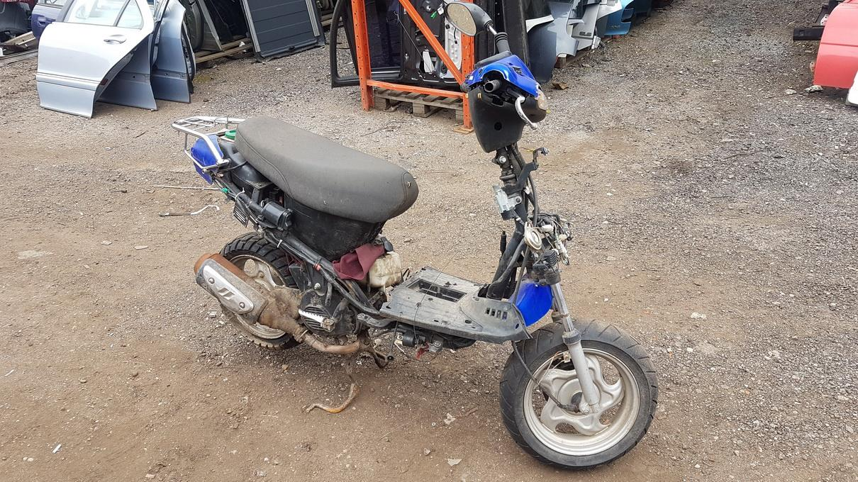 Foto-1 Motorcycles - TGB 202 202, 1998.01 - 2013.12 2012 Benzinas 0.0