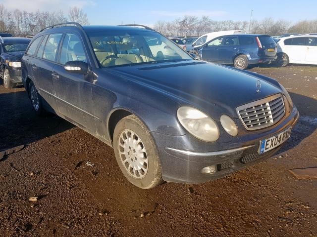 Foto-2 Mercedes-Benz E-CLASS W211, 2002.03 - 2006.04 2004 Dyzelis 2.7