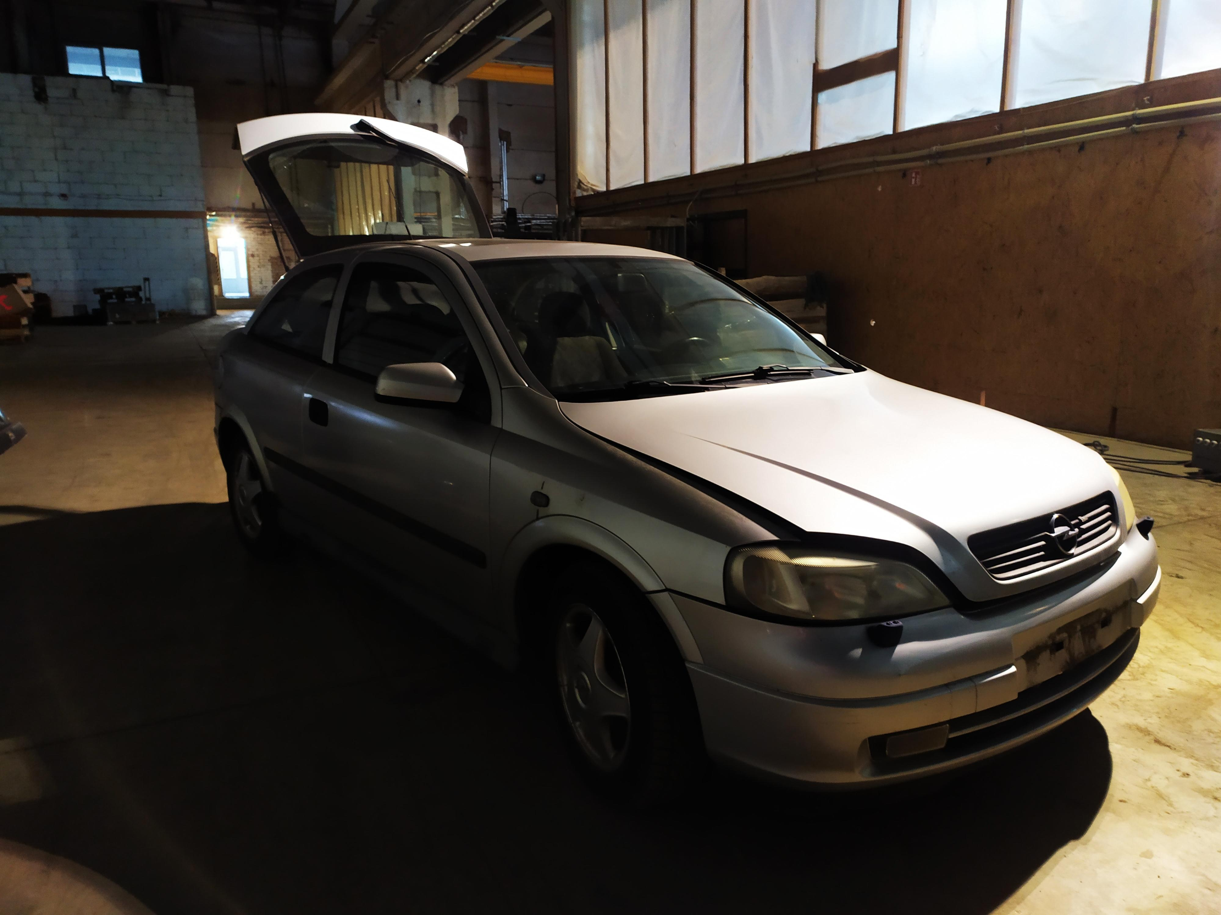 Foto-1 Opel Astra Astra, G 1998.09 - 2004.12 1998 Benzinas 1.6