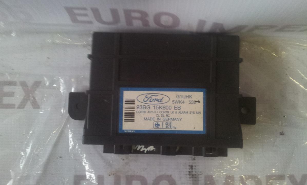 Блок комфорта 93BG15K600EB 5WK4532 Ford MONDEO 1996 1.8