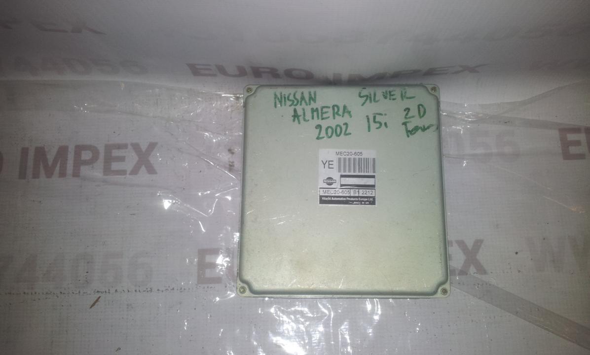 Variklio kompiuteris MEC20605 B1 , 2212 Nissan ALMERA 2003 1.5