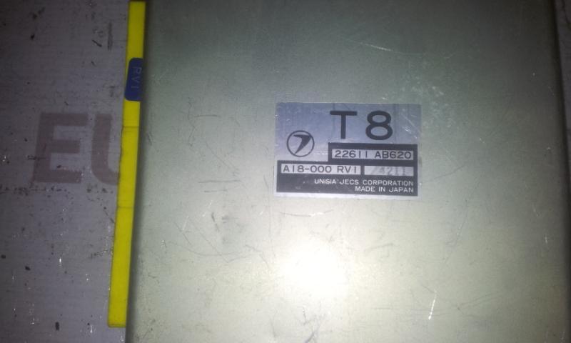 ECU Engine Computer (Engine Control Unit) 22611AB620 A18000RV1 Subaru LEGACY 1999 2.5