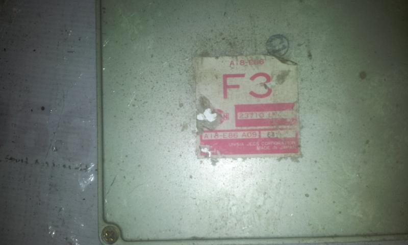 Variklio kompiuteris 237101N400 A18E85LZ Nissan ALMERA 2000 2.2