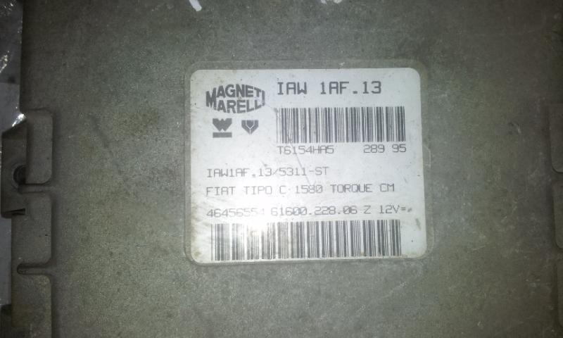 Variklio kompiuteris IAW1AF13 T6154HA5 Fiat BRAVO 1998 1.4