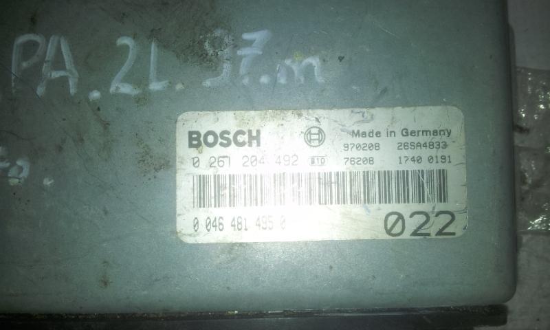Variklio kompiuteris 0261204492 046481495 Lancia KAPPA 1995 2.0