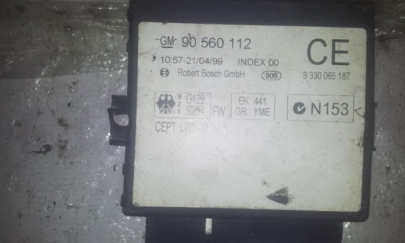 Komforto blokas 90560112 9330065187 Opel ASTRA 2001 1.6