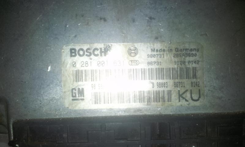 Variklio kompiuteris 0281001631 90508976 Opel VECTRA  2.0