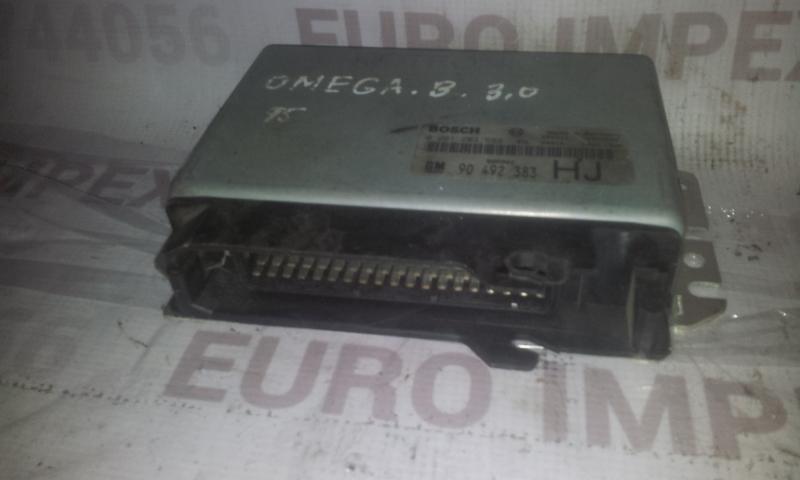 Variklio kompiuteris 0261203589 90492383 Opel OMEGA 1994 2.5