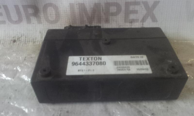 Kiti kompiuteriai 9644337080  Peugeot 206 2001 1.6