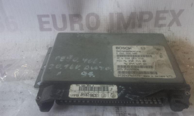 Блок управления АКПП 0260002482 ZF6058001015 Peugeot 406 1998 2.1