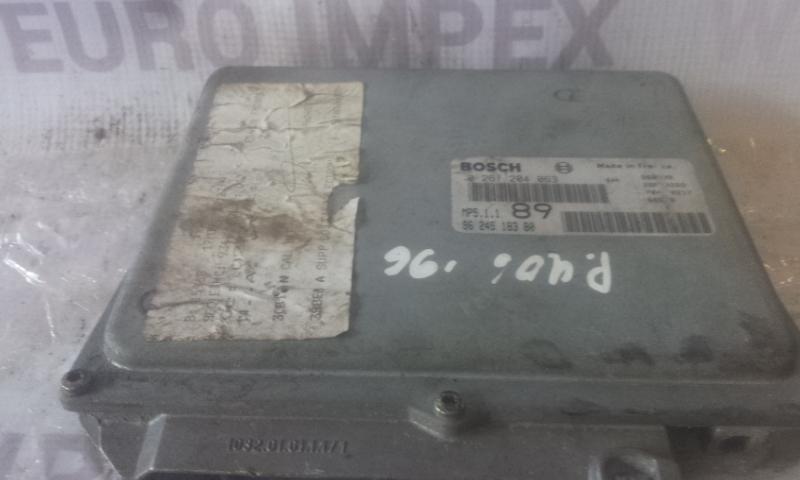 Блок управления двигателем 0261204063 MP51189 Peugeot 406 1998 2.1