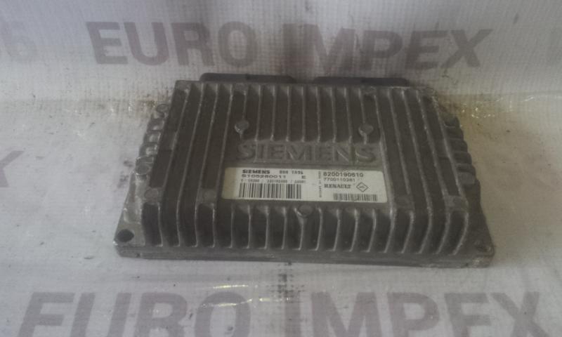 Greiciu dezes kompiuteris S105280011E 7700110261 , 82000190610 Renault ESPACE 1990 2.1