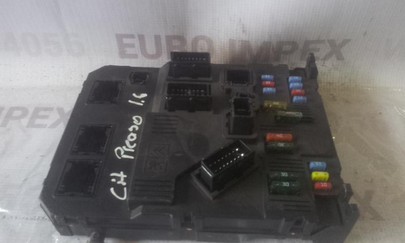 Блок комфорта 9653667580 BSIE0100HG Citroen XSARA PICASSO 2003 1.8