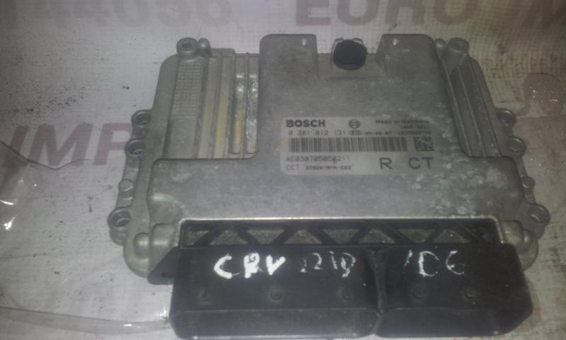 Блок управления двигателем 0281012131 AE041406050265 Honda CR-V 2003 2.0