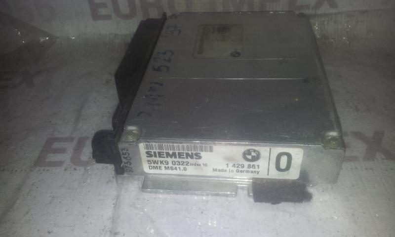 Variklio kompiuteris 1429861  BMW 5-SERIES 2003 2.3