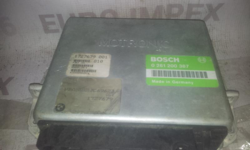 Блок управления двигателем 0261200387 1727679001 BMW 3-SERIES 2000 2.0