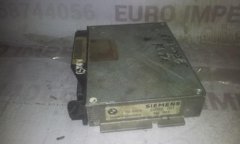 ECU Engine Computer (Engine Control Unit) 17386009  BMW 5-SERIES 2006 2.0