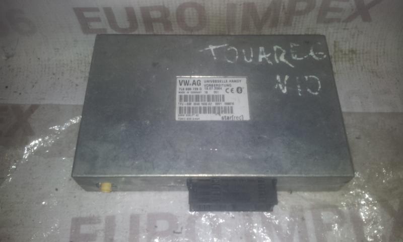 Kiti kompiuteriai 7L6035729D  Volkswagen TOUAREG 2003 2.5