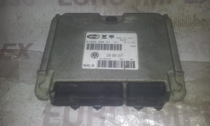 ECU Engine Computer (Engine Control Unit) 036906014 6160046401 ,  IAW4CV Volkswagen GOLF 2007 1.9