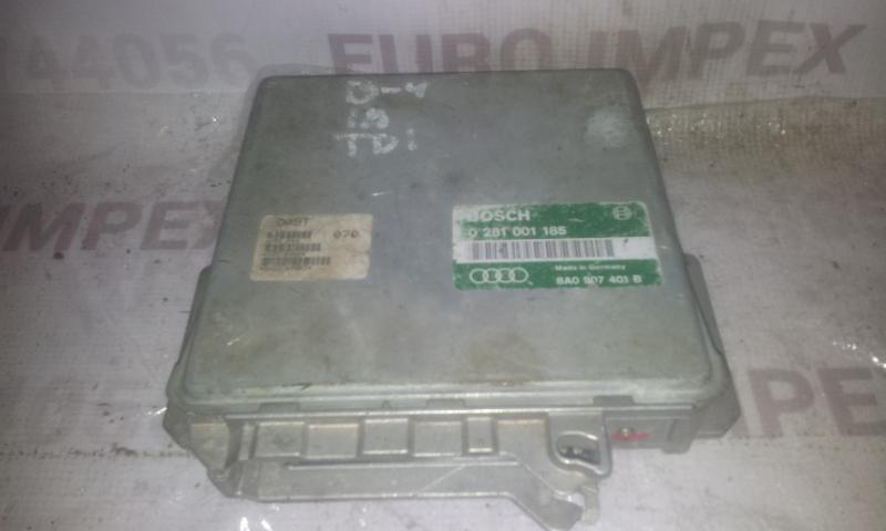 Variklio kompiuteris 0281001185 8A0907401B Audi 80 1988 1.6