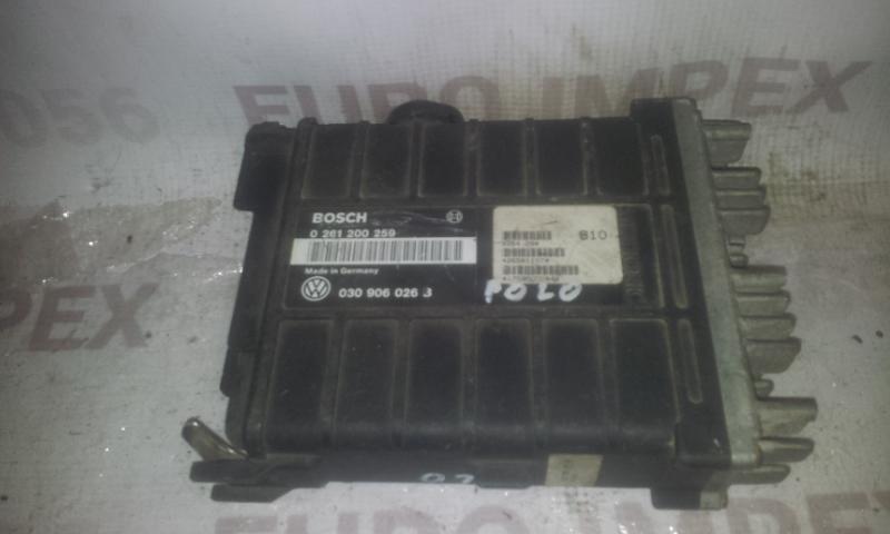 Variklio kompiuteris 0261200259 030906026B Volkswagen POLO 1991 1.3