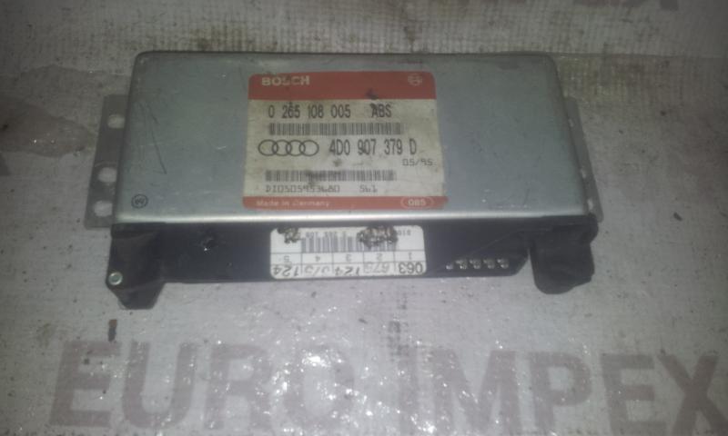 ABS kompiuteris 0265108005 4D0907379D Audi A4 1999 1.8