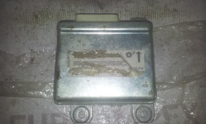 SRS AIRBAG KOMPIUTERIS - ORO PAGALVIU VALDYMO BLOKAS NENUSTATYTA  Chrysler VOYAGER 1999 2.5