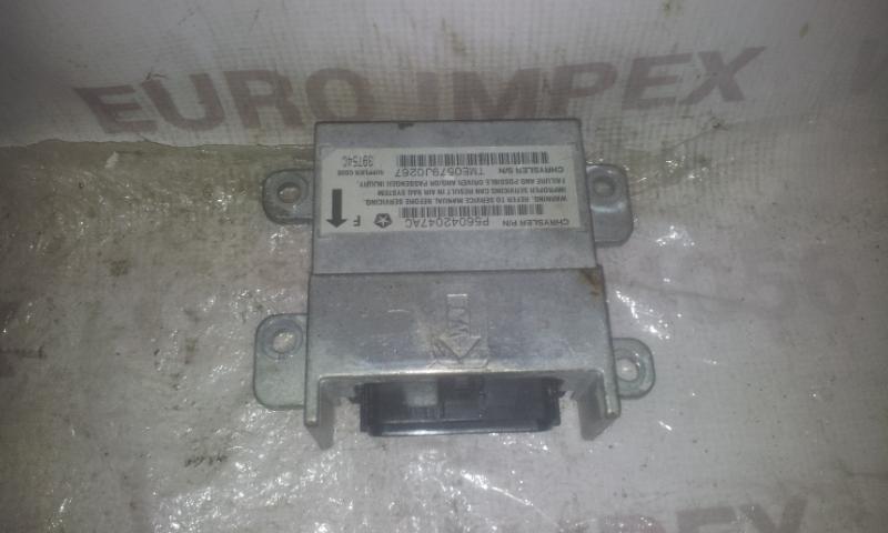 SRS AIRBAG KOMPIUTERIS - ORO PAGALVIU VALDYMO BLOKAS P56042047AC  Jeep GRAND CHEROKEE 2003 2.7