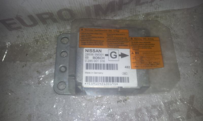 285565M301 0285001316 SRS Airbag kompiuteris Nissan Almera 2005 1.8L 29EUR EIS00003456