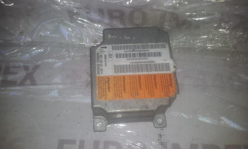 Airbag crash sensors module 0025428118  Mercedes-Benz ML-CLASS 2002 2.7