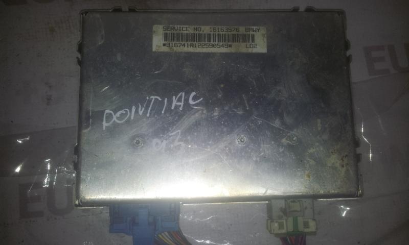 Variklio kompiuteris 16163576 916741R122590549 Pontiac TRANS SPORT 1993 2.3