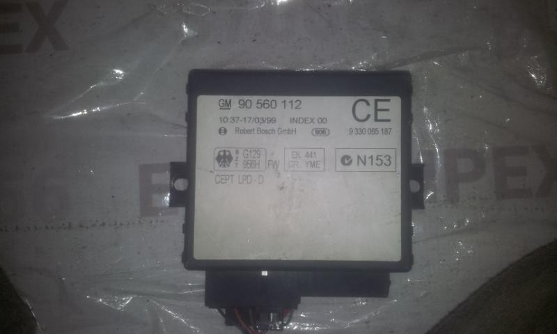 Блок комфорта 90560112CE 9330065187 Opel ASTRA 1998 2.0