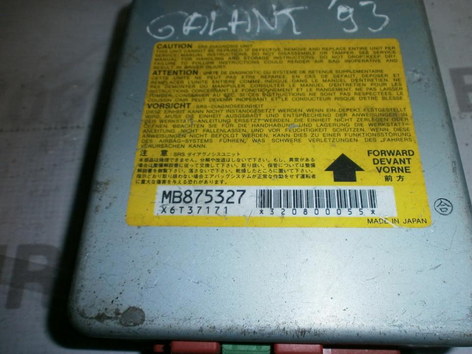 SRS AIRBAG KOMPIUTERIS - ORO PAGALVIU VALDYMO BLOKAS MB875327 X6T37171  Mitsubishi GALANT 1998 2.0