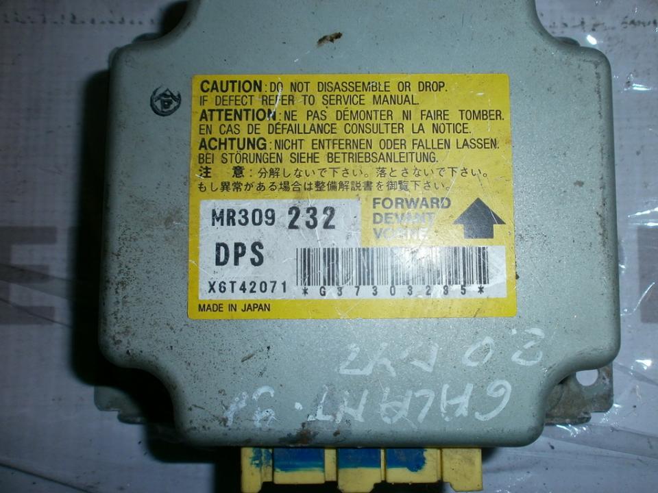 Airbag crash sensors module MR309232 x6t42071  Mitsubishi GALANT 1999 2.0