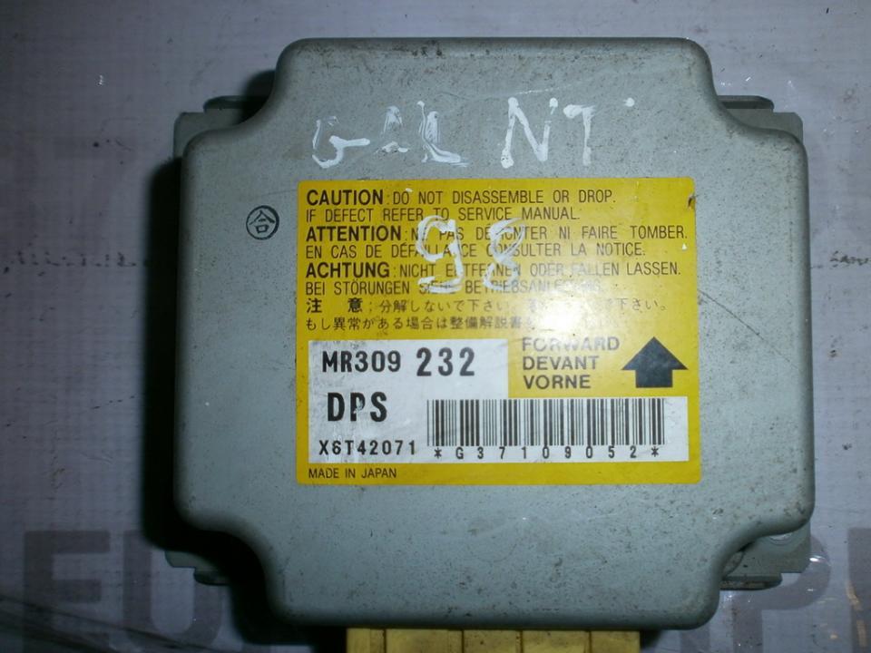 Блок управления AIR BAG  MR309232 x6t42071  Mitsubishi GALANT 1999 2.0