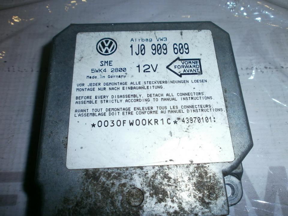 SRS AIRBAG KOMPIUTERIS - ORO PAGALVIU VALDYMO BLOKAS 1J0909609 5WK42800  Volkswagen GOLF 1996 1.9