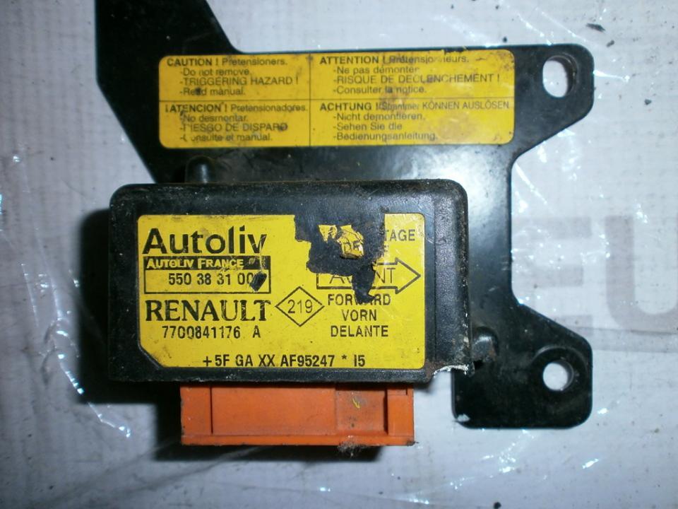 Airbag crash sensors module 7700841176A 550383100 Renault MEGANE SCENIC 1997 1.6