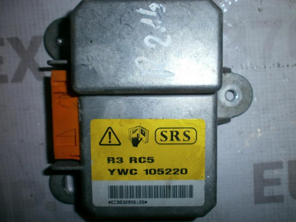 SRS AIRBAG KOMPIUTERIS - ORO PAGALVIU VALDYMO BLOKAS YWC105220 68HC11E1  Rover 200-SERIES 1998 1.4