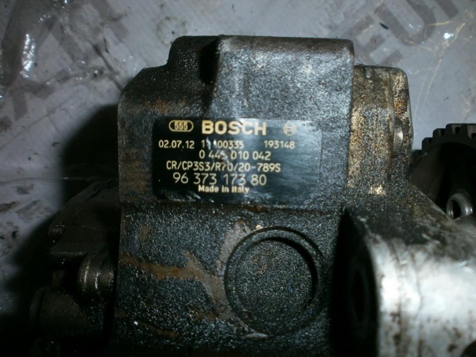 High Pressure Injection Pump 0445010042 9637317380 Peugeot 307 2003 2.0