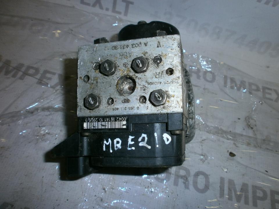 ABS blokas A0034313012 0265217401  Mercedes-Benz E-CLASS 2001 2.9