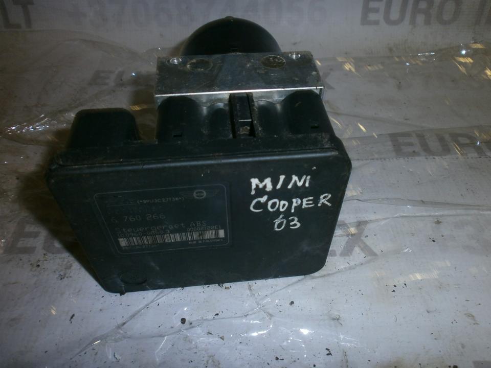 ABS blokas 6760266 1009600862 , 34516760265 Mini COOPER 2003 1.6