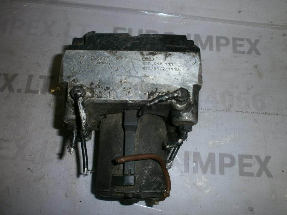 ABS blokas 8D0614111 0265214002U ,  Audi A4 2002 1.9